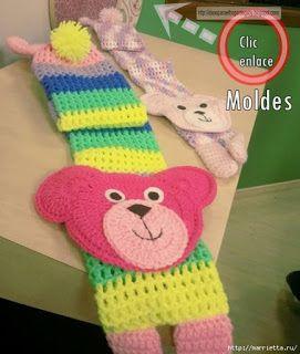 Ideas para el hogar: Bufandas divertidas para los niños