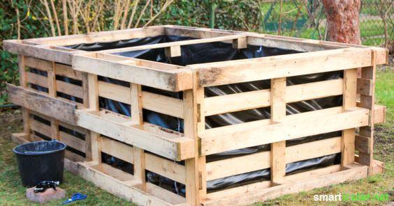 Hochbeet selber bauen – einfach und preiswert aus Paletten