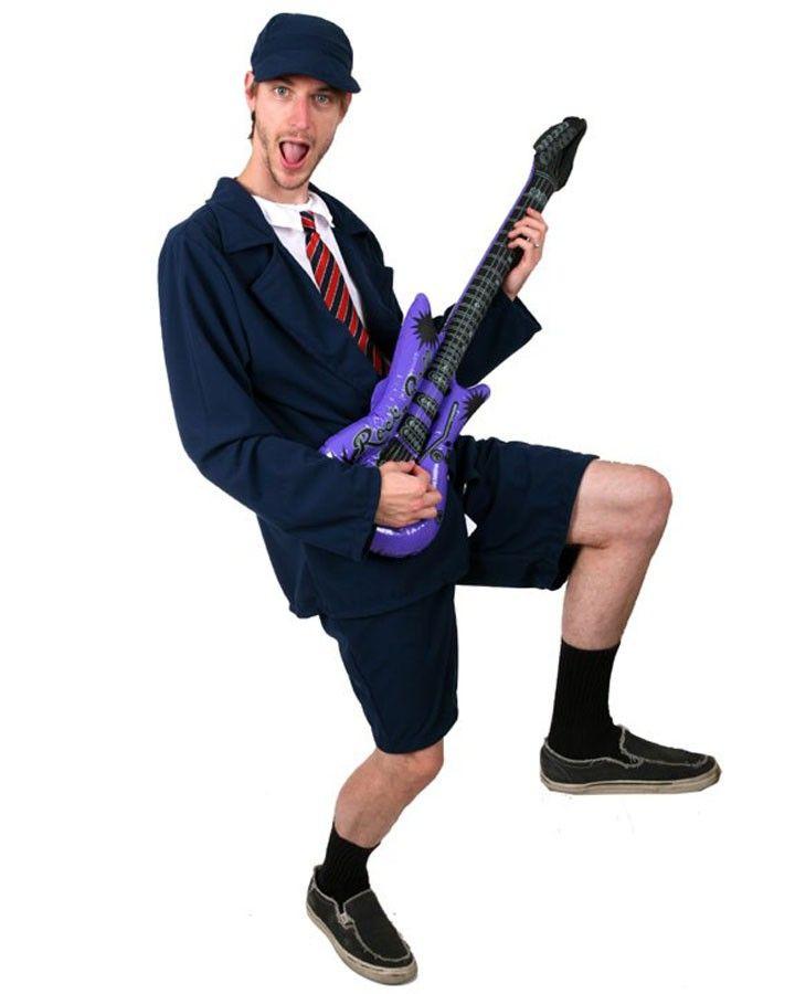 school boy rocker mens costume