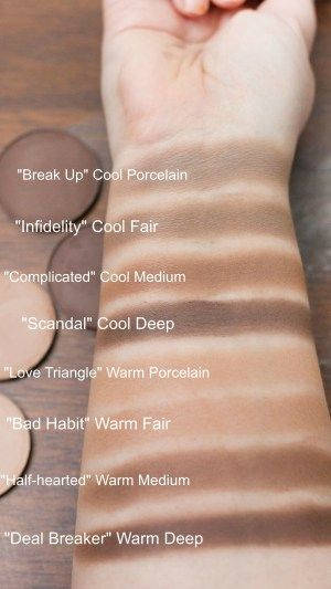 Makeup Geek Cosmetics Contour Powders Review and Swatches
