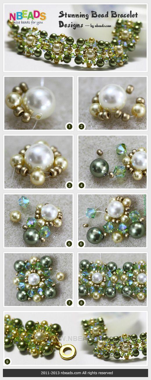 Stunning Bead Bracelet Designs diy