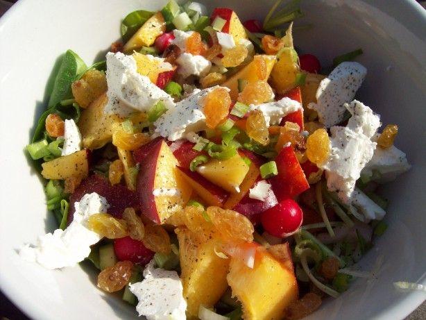 Zomerse maaltijd salade