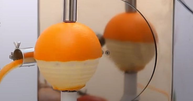This kitchen invention takes away the worst thing about peeling fruit