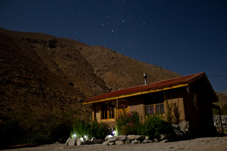 A little cottage on Elqui's valley, below Southern Cross