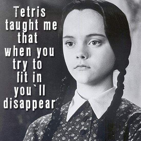 Tetris Taught Me #Best-Life-Quotes, #Facebook-Quotes, #Funny-Positive-Quotes… More