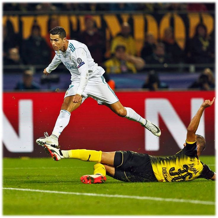 BRACE on his 400th Appearance for Real Madrid Congratzz Cris!!!❤ UCL 2017-18..... #RMvsDortmund