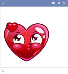 Sweet heart face