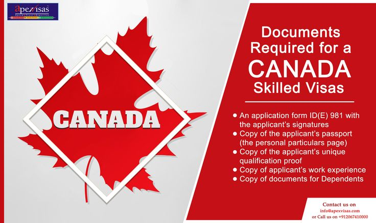 Documents Required for a Canada Skilled Visa. #immigration #immigrationtocanada #Apexvisas To know more - https://goo.gl/ChkUHD