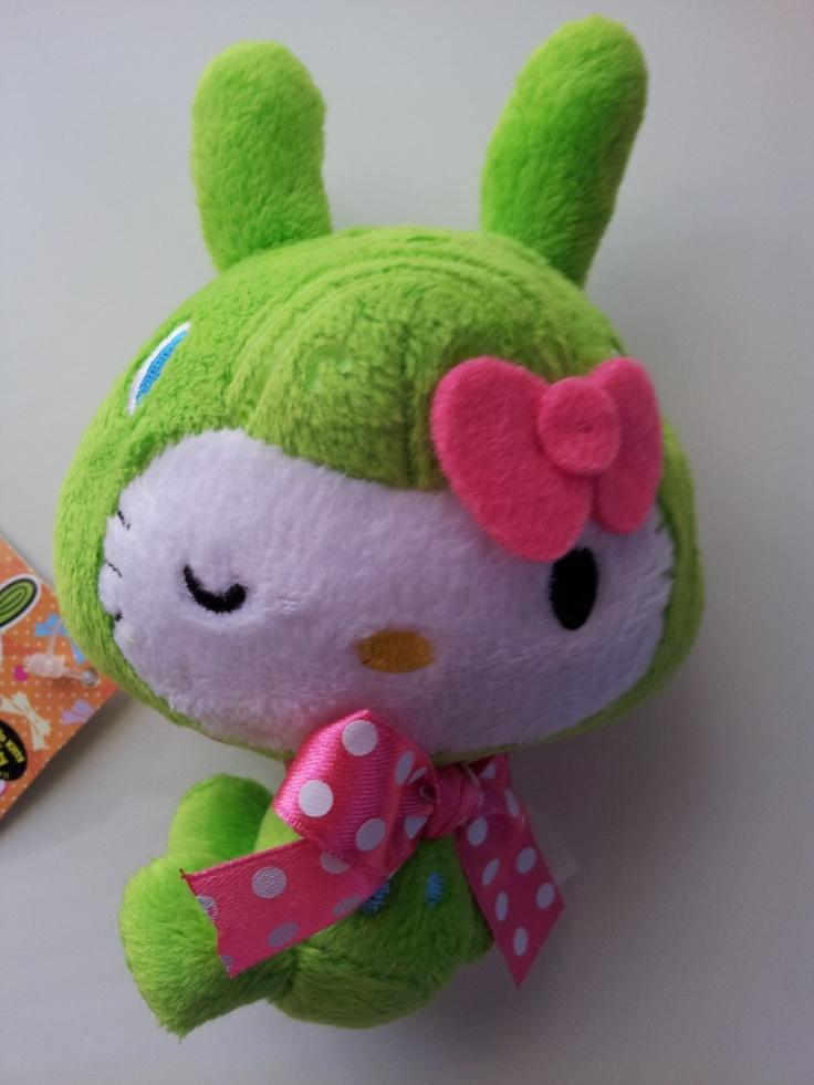 JPLand Stuff - Sanrio Hello Kitty x Rody Horse Plush Strap (Green), $12.99 (http://www.jplandstuff.com/sanrio-hello-kitty-x-rody-horse-plush-strap-green/)