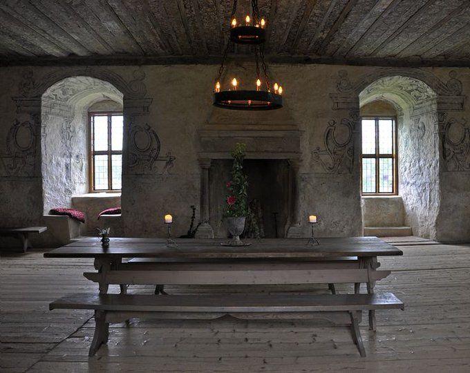 私 中世ヨーロッパ風のお部屋に住みたいの と言っている人が