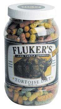Fluker Tortoise & Box Turtle Diet Lg Pellet 7oz