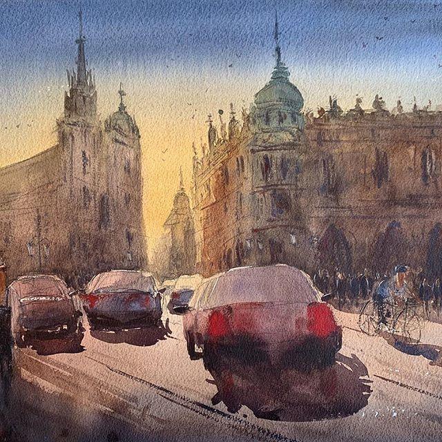 The Best Watercolor On Instagram Watercolor By Stan Miller