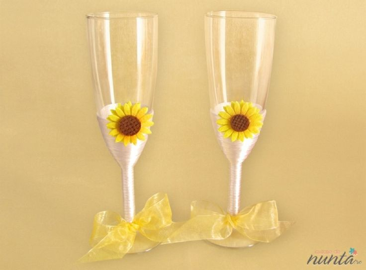 Set pahare miri Sun Flower