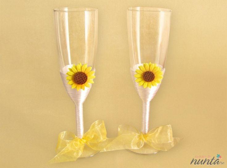 Set pahare miri Sun Flower