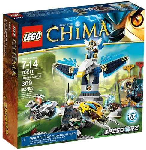 Get your LEGO Legends of Chima Eagles Castle set 70011 for just $28.75 on ChimaLegos.com!