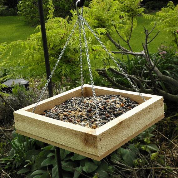Make your own platform bird feeder woodworking projects for Homemade bird feeder plans