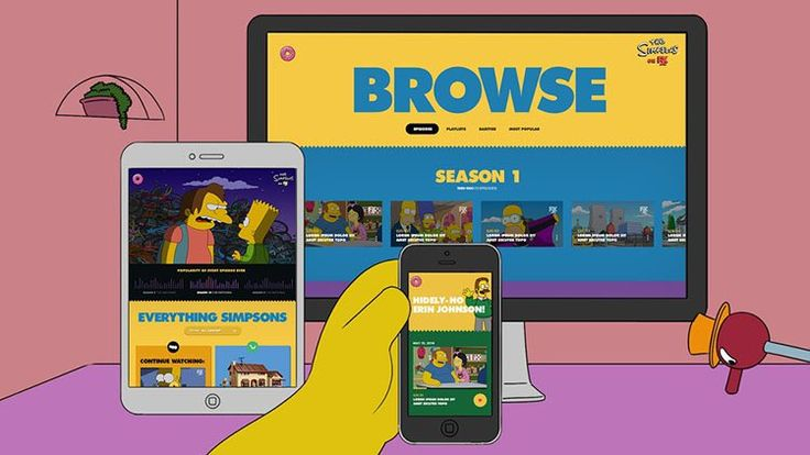How to Watch Simpsons World outside USA - DNS Proxy or VPN