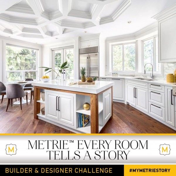 Our latest entry, House of Bohn, is taking ceilings to new heights in the Metrie Every Room Tells A Story — Builder & Designer Challenge.