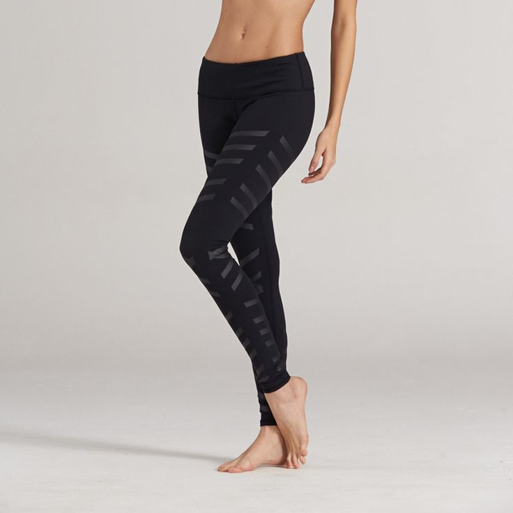 Yoga pilates compression legging tights pant 2017 New Sports Running Gym ninth trousers Female Fitness Quick Dry streth Elastic  * Click the VISIT button for detailed description