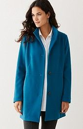 Women's apparel, accessories, and footwear from J. Jill- Berkshires Coat - I like BEECHWOOD color- Size 4X- $219.00
