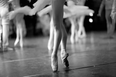 Long and Lean Ballet Dancers Legs Photographic Print by Anna Jurkovska at Art.co.uk