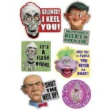 Jeff Dunham's Famous Puppets Refrigerator Magnets (Set of 6) - Achmed, Walter Reviews - http://ventriloquistdummy.net/jeff-dunhams-famous-puppets-refrigerator-magnets-set-of-6-achmed-walter-reviews/