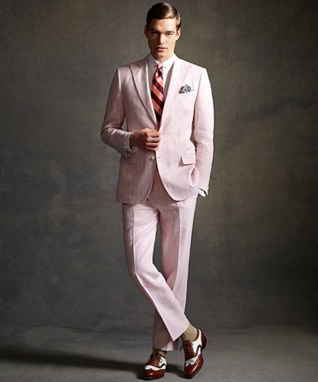 After producing the mens costumes for the Great Gatsby film with designer Catherine Martin, the Brooks Brothers has adapted them for an exclusive line.