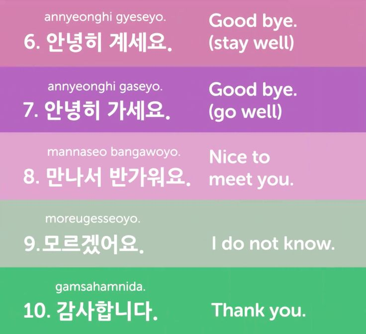 useful korean phrases dating