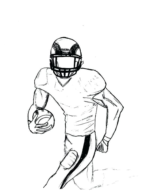 Printable Football Coloring Pages Football Coloring Pages Coloring Pages For Boys Sports Coloring Pages