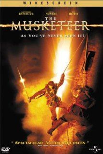 The Musketeer (2001) Dumas' novel is updated with an eastern influence as D'Artagnan attempts to  join the king's elite guards, the Royal Musketeers, and find the man who killed his parents.  Justin Chambers, Catherine Deneuve, Mena Suvari