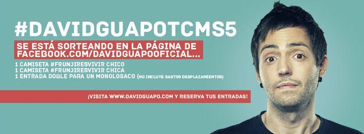 ¡Vuelve David Guapo a TU CARA ME SUENA (Antena 3)! #DavidGuapoTCMS5 #TCMS7