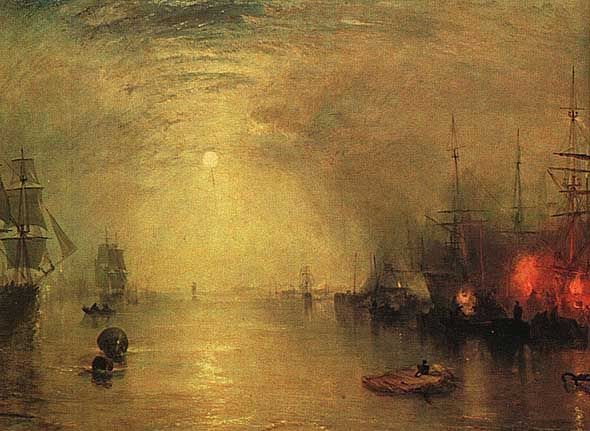 Joseph Mallord William Turner Keelman Heaving in Coals by Night