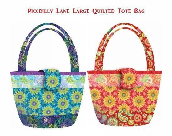 free tote bag patterns pdf with a zip