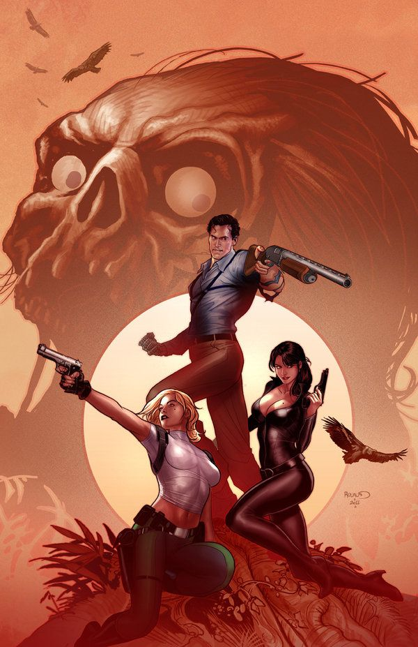 Danger girl Army of Darkness 2 by PaulRenaud.deviantart.com on @deviantART