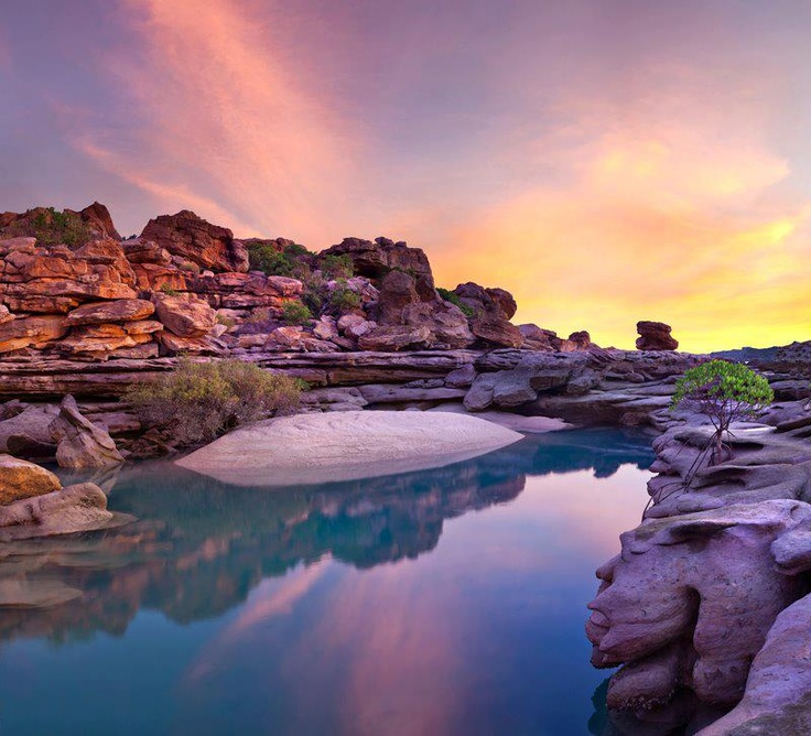 Sunset at Winyalkin in the Kimberley, WA