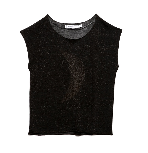 Golden Moon Top from Something Else $159