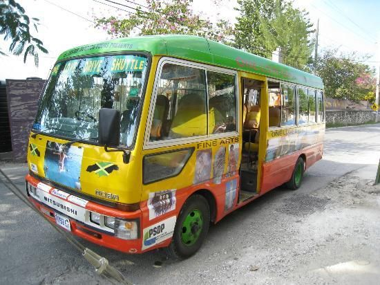 One Love Bus Bar Crawl: One Love Bus; it's a must do in Negril!