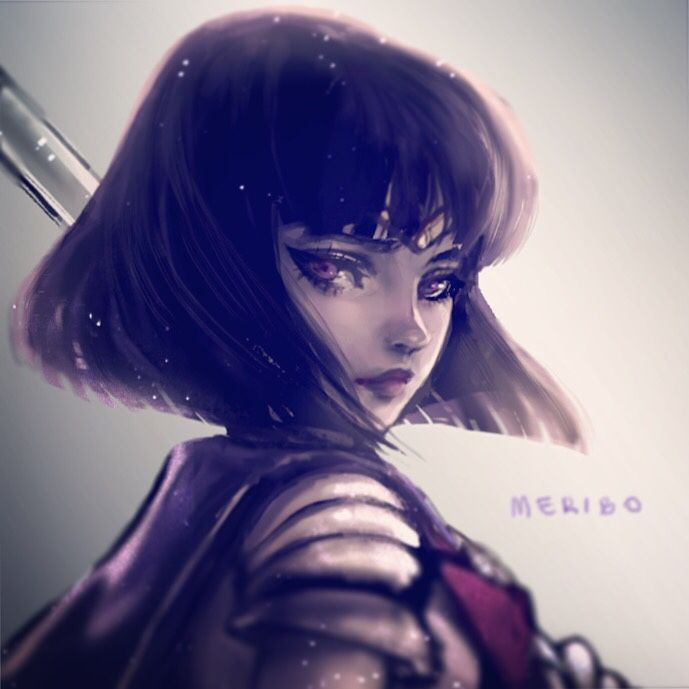 Meri Zhang http://meribo.tumblr.com/post/148170771665/best-girl-wip Sailor Saturn