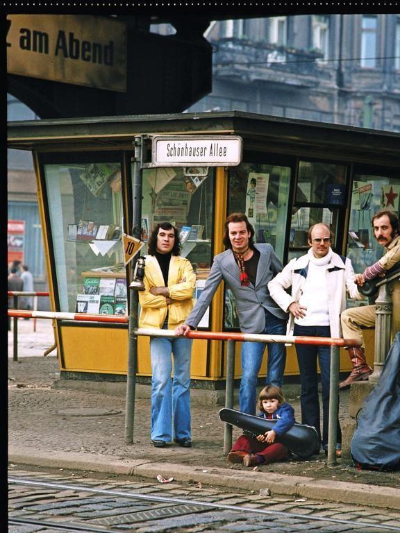 """Auch die Band """"City"""" lichtete Gueffroy ab. Viele seiner Bilder schmückten Amiga-Plattenhüllen.   Günter Gueffroy"""