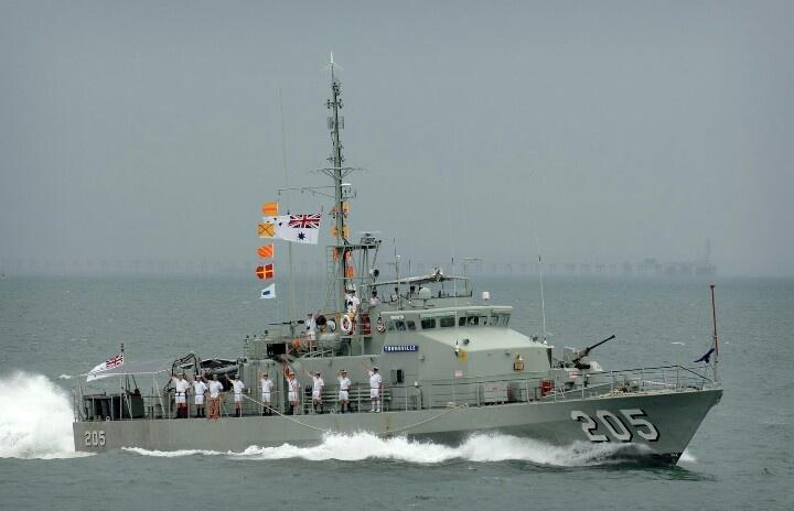RAN Fremantle Class Patrol Boat (HMAS Townsville)