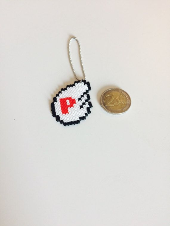 P-Wing Keyring Super Mario inspired by TinksPixels on Etsy