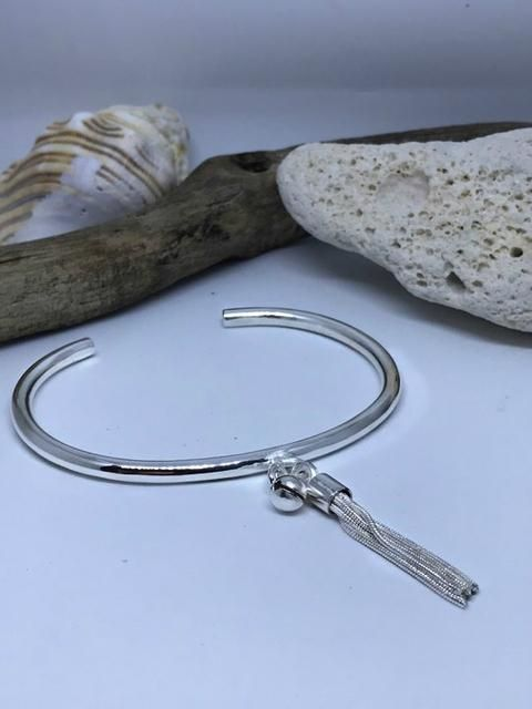 Under The Sun Tassel Bangle