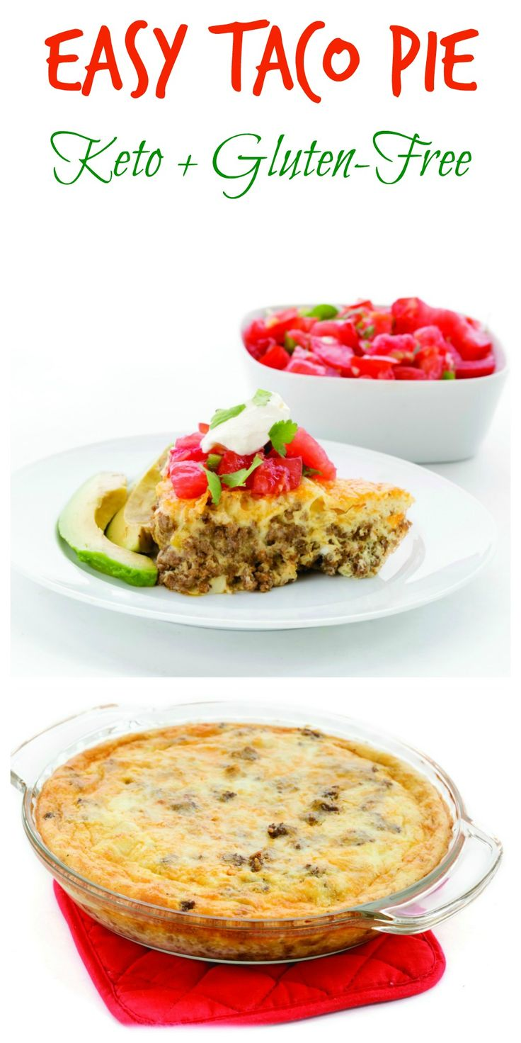 Easy Taco Pie is as family-friendly as recipes come -- always welcome for dinner tonight or lunch again the next day, and then again a week later. Meaty, cheesy, with just enough spice and satisfying as all get-out, it just solves all the problems. Dress it up with salsa, serve it as is, adorn with sliced avocados...whatever you fancy.