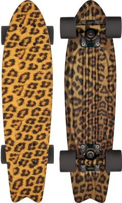 Globe Bantam Graphic ST 23 Plastic Skateboard Complete - leopard - Skate Shop  Completes  Cruiser Skateboard Completes