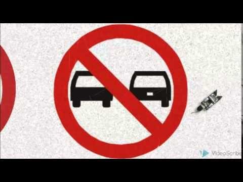 ¿Conoces los señalamientos viales?