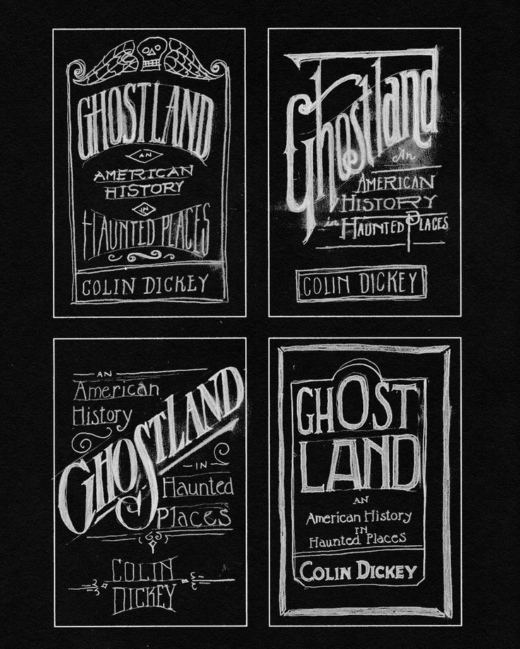 Here's a few examples of the sketches I worked on for @colindickey and @vikingbooks for the #Ghostland book. It comes out this Tuesday October 4! And it's AWESOME.