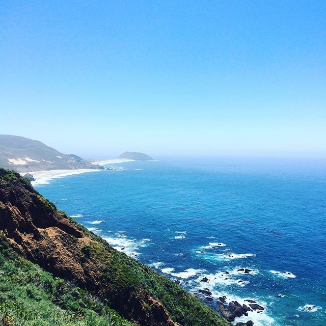 One more , you're my boy blue! #water #ocean #pacificcoast #highway #hwy1 #bigsur #roadtrip #beach #coast #cliffs #california #us1 #santacruz #monterey #montereybay #montereybaylocals - posted by Payden Neumann https://www.instagram.com/paydsn - See more of Monterey Bay at http://montereybaylocals.com