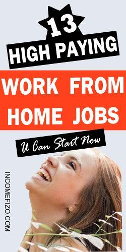 13 Legitimate Work from Home Jobs You Should Start