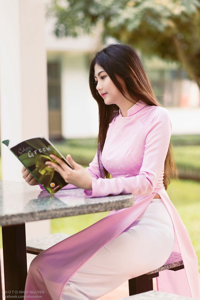 Pretty in pink ~ Ao Dai