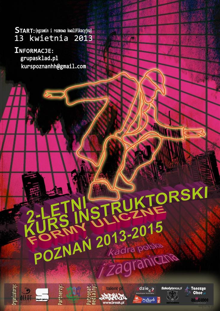 2-letni Kurs Instruktorski - Formy Uliczne - Taniec Nowoczesny - Kadra Polska I Zagraniczna - Pod patronatem Gdzieco.pl